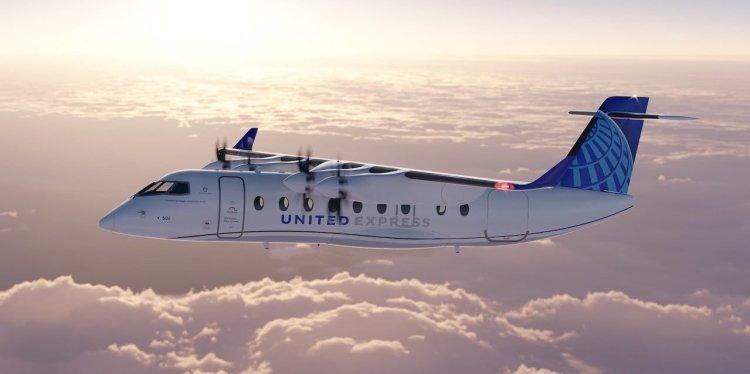 United Airlines flota eléctrica