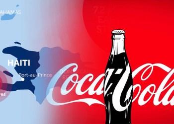 Coca Cola entrega donación a Haití