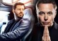 Mate Rimac y Elon Musk