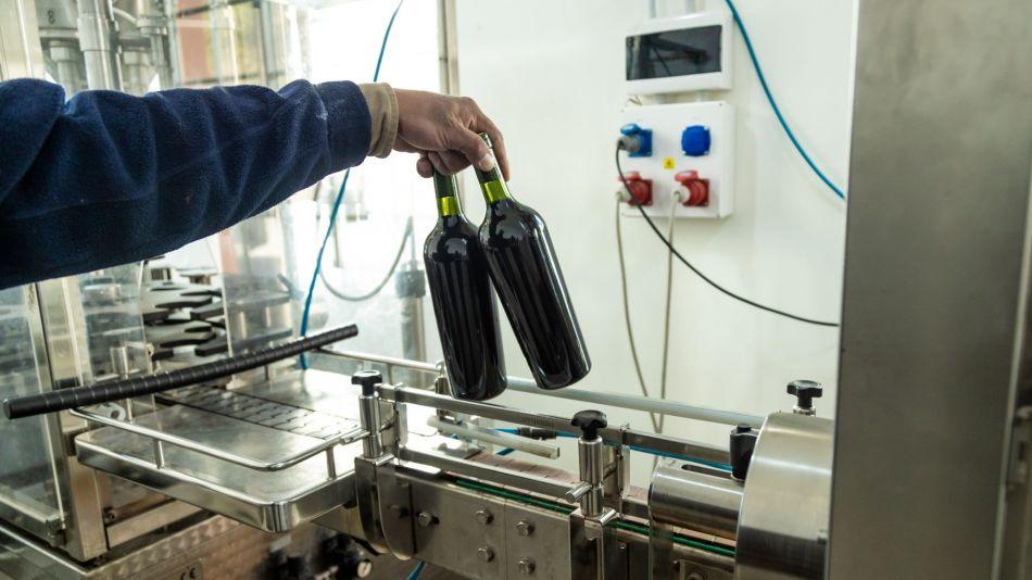 Productora de vino en Argentina