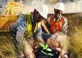 Concepto de minería responsable.