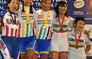 Diana García y Juliana Gaviria felices con su Bronce