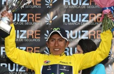 Nairo Quintana triunfante en Murcia
