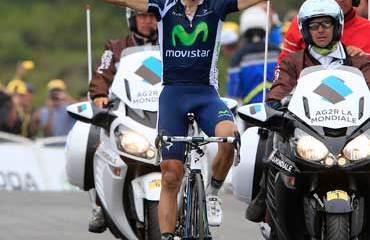 Valverde y su victoria de Tour