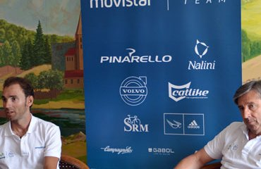 Alejandro Valverde junto a Eusebio Unzué