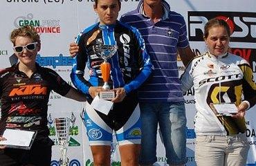 Laura Abril en el podio final