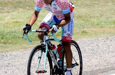 Miguel Rubiano sigue en la pelea del Giro