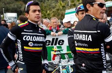 El Colombia-Coldeportes en Italia