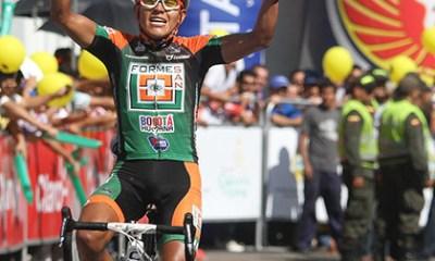 Jair Pérez logró este jueves una gran victoria en Ibagué