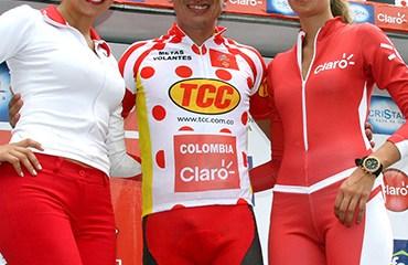 Marlon Pérez de nuevo en el podio del Clásico RCN-Claro