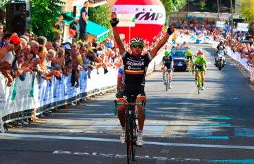 Duarte consiguió su primer gran triunfo en la temporada 2012