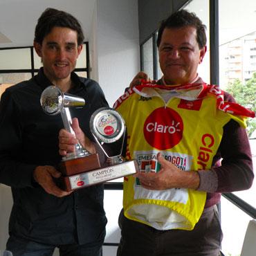 Oscar Sevilla junto a Gustavo Serrano