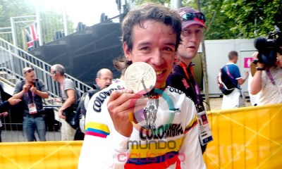 Rigoberto Urán y su medalla de plata en Londres