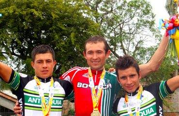 El podio final del Cross Country Hombres