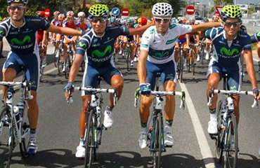 Nairo Quintana con el Movistar Team 2013