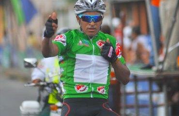 Rafa Montiel y su victoria de etapa