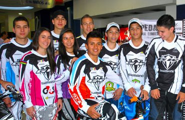 El equipo GW-Shimano Pro de BMX