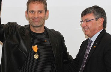 Santiago Botero fue uno de los grandes homenajeados
