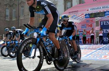 El Sky fue protagonista en el Giro 2012