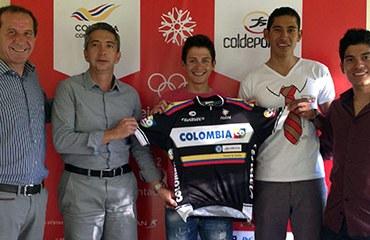 La camiseta oficial del equipo Colombia 2013