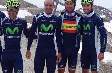 Movistar Team listo para debutar
