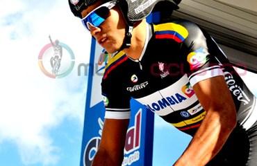 Carlos Julián Quintero el mejor del Team Colombia en Francia