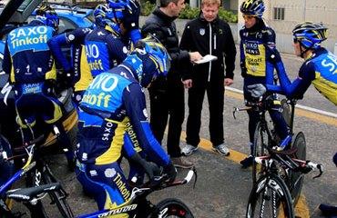 Contador listo para la Tirreno Adriático