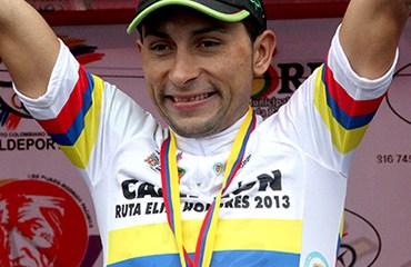 Pedraza celebra su 2º título de campeón nacional de ruta