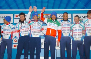 El Androni con Rubiano en la Settimana di Coppi & Bartali