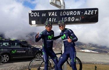 Valverde y Quintana se van para las Clásicas belgas