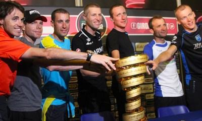 Las estrellas del Giro 2013 ya se vieron las caras y solo resta esperar a que empiece la fiesta de la bicicleta este sábado en Nápoles