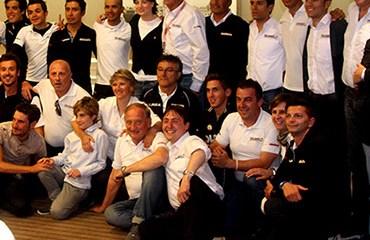 El Team Colombia realizó una gran participación en su primera grande