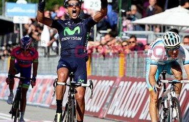 El español Intxausti volvió a ser protagonista de este Giro