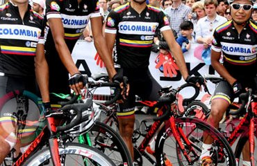 Duarte, Marentes, Ospina y Atapuma en el Giro de Italia 2013