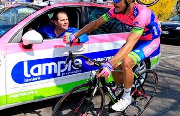 Serpa ya sabe de sobre lo que es correr un Giro de Italia