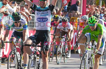 'Max Man' es el corredor más rápido del Giro 2013