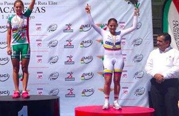 Sérika Gulumá y un nuevo podio en su carrera deportiva