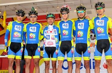 El 4-72 Colombia sigue su preparación hacia el Tour de L'Avenir