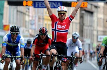 Boasson Hagen y su 2º triunfo de la temporada