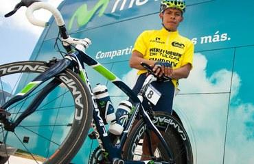 Montaña ya sabe lo que es subirse en el podio final de la Vuelta