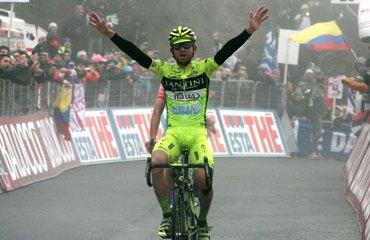 La UCI suspende provisionalmente a Santambrogio