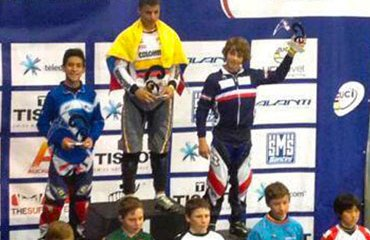 Zuluaga es el primer colombiano en subir al podio en Nueva Zelanda