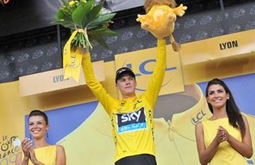 Froome entró como líder a la última semana de Tour