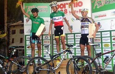 Páez sigue acumulando podios en la temporada europea de MTB