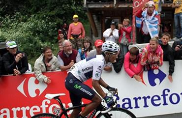 Nairo ha conseguido impresionantes actuaciones en el Tour 2013
