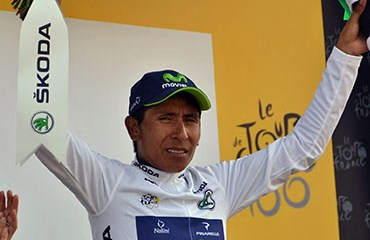 Quintana quiere el título de mejor joven y el podio final en París