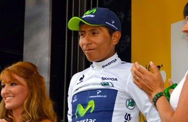 Quintana se afianzó en la clasificación de los jóvenes y se instaló en el podio