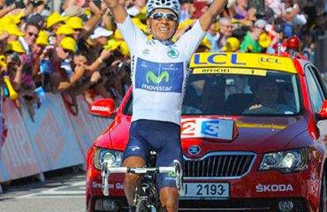 No podía ser mejor el cierre de Nairo en el Tour 2013