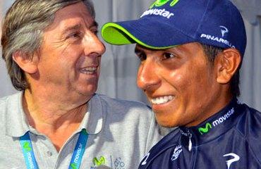 Quintana y Unzué en el pasado Tour de Francia