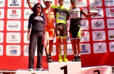 Jaime Castañeda y su podio en Brasil